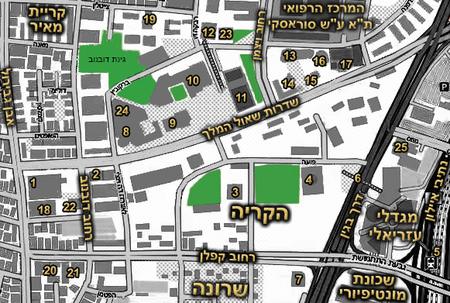 Shaul_HaMelech_Blvd_map